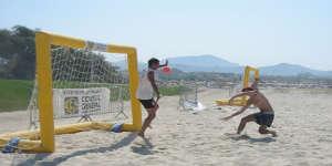 Le sport à la plage