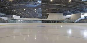 La patinoire géante