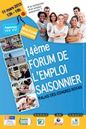 Quatorzième édition du Forum de l'emploi saisonnier